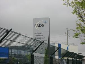 Entrada al edificio de EADS