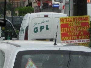 Furgoneta GPL