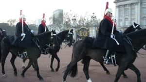 Guardias a caballo
