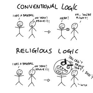 Lógica convencional vs religiosa
