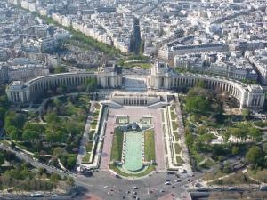 Trocadéro desde la Torre Eiffel