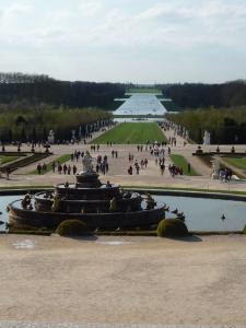 Lago de los jardines de Versalles
