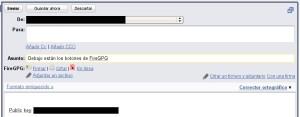 Integración de FireGPG en Gmail