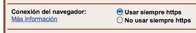 Configurando Gmail para usar SSL