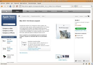 Snow Leopard a la venta