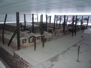Restos de los hornos crematorios