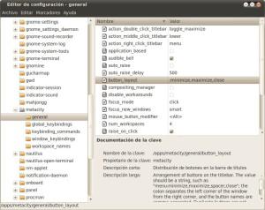 Botones en Ubuntu 10.04