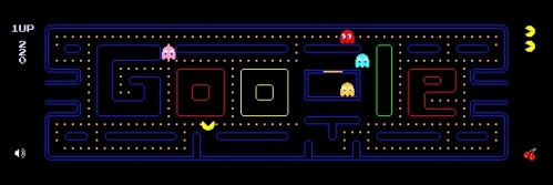 Google y Pac-Man