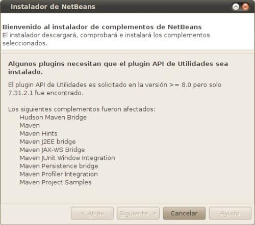 Error en NetBeans 6.8