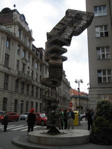 Escultura de llaves de Praga