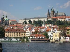 Praga desde el Puente Carlos