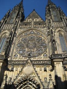Fachada de la Catedral de Praga