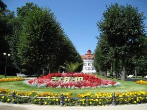 Jardín en Karlovy Vary