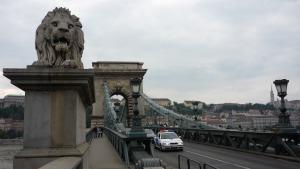 Puente de las Cadenas sobre el Danubio