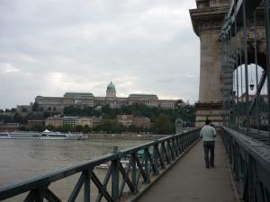 Castillo de Buda desde el Puente de las Cadenas