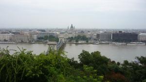 Panorámica de Pest desde el Castillo de Buda