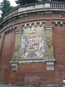 Mosaico junto al funicular