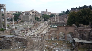 Foro romano y el Coliseo
