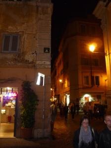 Invader en Trastevere