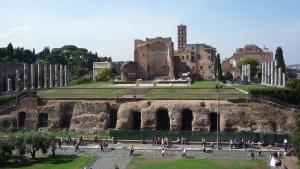 Foro visto desde el Coliseo