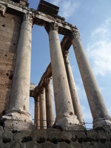 Columnas del Templo de Antonino y Faustina