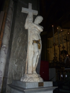 Cristo de Miguel Ángel