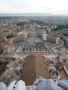 Roma desde la cúpula