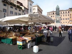Mercado de Campo di Fiori