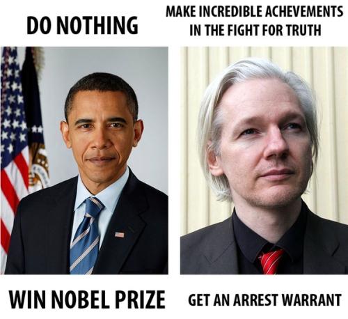 Obama vs Assange