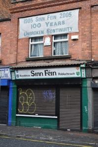 Antigua sede del Sinn Féin