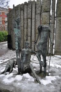 Escultura votiva a las hambrunas