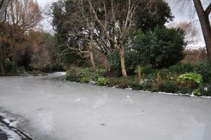 Río helado