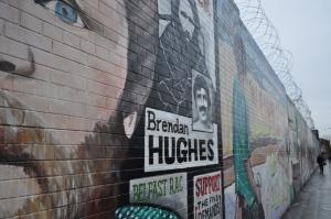 Muro en Shankill Road