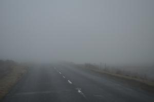 ¿Niebla? Eso parece...