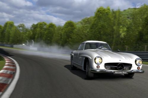 Mercedes-Benz 300 SL en Nürburgring Nordschleife