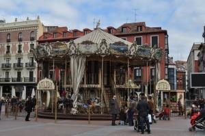 Tiovivo en la Plaza Mayor