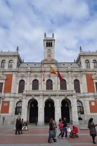 Casa Consistorial en la Plaza Mayor