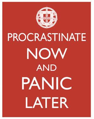 Procrastinemos... más tarde