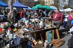 Parte raruna de Naschmarkt