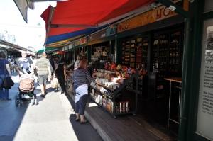 Parte normal de Naschmarkt