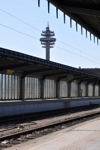 Torre de telecomunicaciones desde Südbahnhof