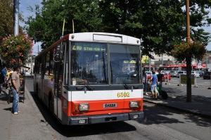 Autobús Škoda viejuno
