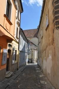 Calles en el centro de Bratislava