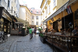 Zona de restaurantes para guiris