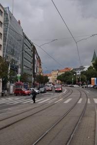 Llueve sobre Bratislava