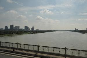 El Danubio desde el autobús