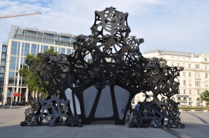 Arte moderno en Schwarzenbergplatz