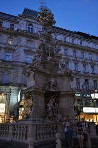 Fuente cerca de Stephansplatz