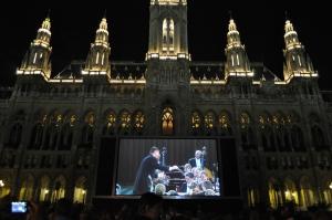 Ópera nocturna en Rathaus