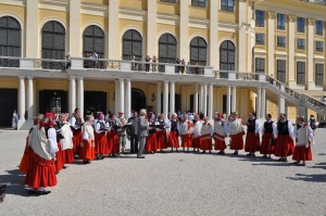 Coro en Schönbrunn